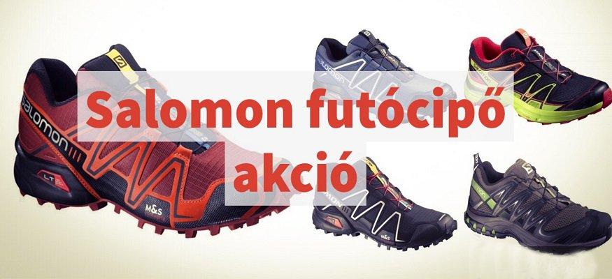 Salomon futócipő akció